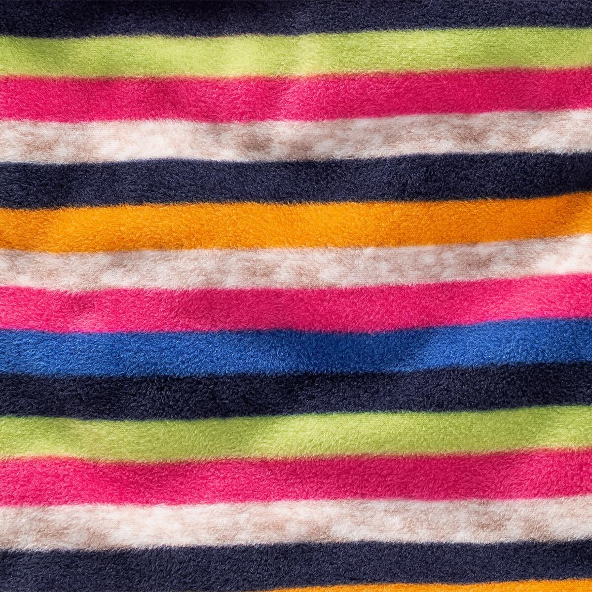 Bild 3 von Mädchen Rundschal mit Streifen