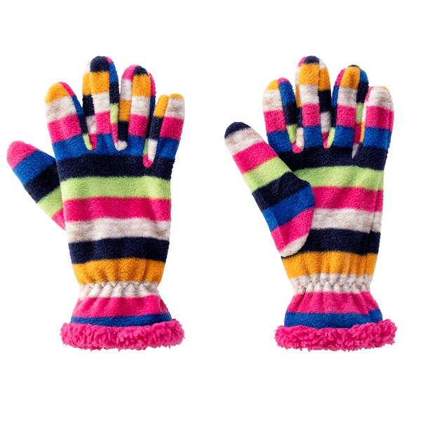 Mädchen Fingerhandschuhe aus Fleece