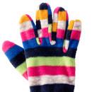 Bild 2 von Mädchen Fingerhandschuhe aus Fleece