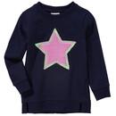 Bild 1 von Mädchen Sweatshirt mit Plüsch-Applikation