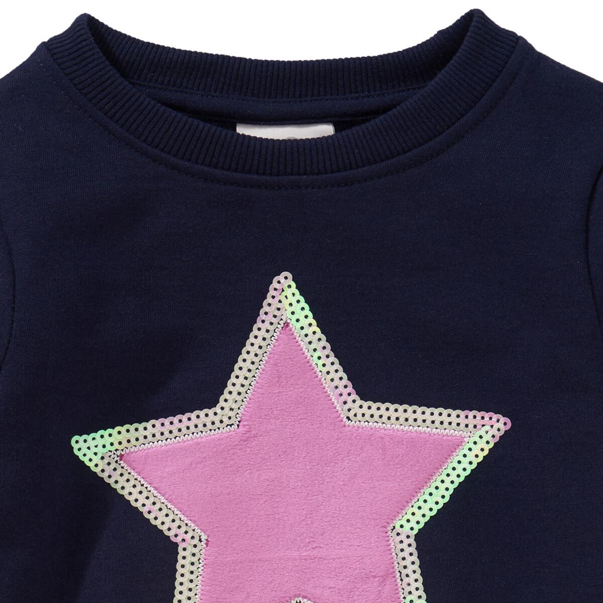 Bild 2 von Mädchen Sweatshirt mit Plüsch-Applikation