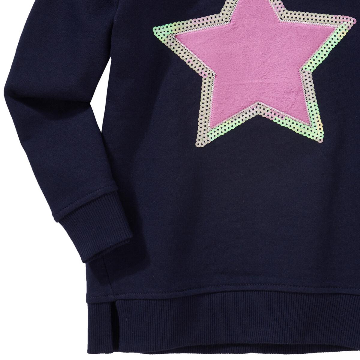 Bild 3 von Mädchen Sweatshirt mit Plüsch-Applikation
