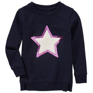 Mädchen Sweatshirt mit Pailletten