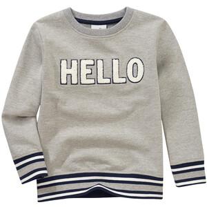 Jungen Sweatshirt mit Frottee-Applikation