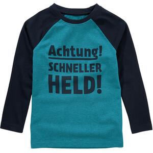 Jungen Langarmshirt mit Message-Print