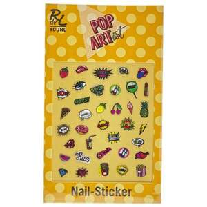 RdeL Young Pop Artist Nail Sticker