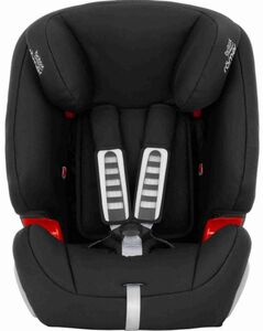Britax-Römer - Auto-Kindersitz - Evolva 1-2-3 SL - Black - Gruppe 1/2/3