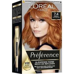 L'Oréal Paris Préférence Coloration 7.4 Dublin Kupferblond
