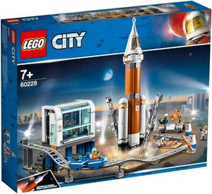 LEGO® City Space Port 60228 - Weltraumrakete mit Kontrollzentrum