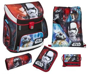 Scooli Schulranzen Set - Star Wars Episode 8 - Campus Up - 5 Teile