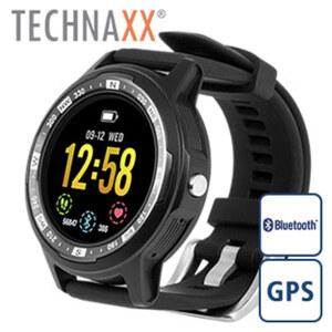 Smartwatch TX-SW3HR · 1,5'' Farbdisplay · Schrittzähler, Schlafüberwachung, Herzfrequenzmessung · Anrufe, SMS, soziale Medien, Kalenderanzeige · Wasserfest gemäß Schutzklasse IP67 · 20 Tage