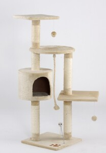 "Cat Bonbon Kratzbaum ""Kitty"", beige"