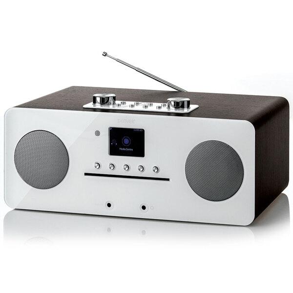 Denver DAB+ Internet-Musik Center, Bluetooth & NFC, Weiße Front, MIR-260