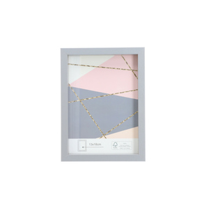 Bilderrahmen MDF grau FSC® 13 x 18 cm