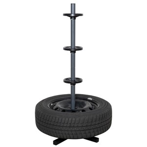 Felgenbaum aus Stahl für 4 PKW-Reifen