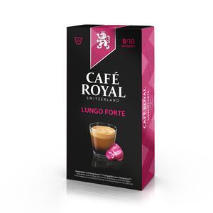 Café Royal Lungo Forte | 10 Nespresso® komp. Kapseln