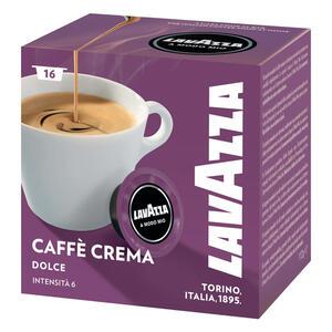 Lavazza A Modo Mio Lungo Dolce, Kaffee, Kaffeekapseln, Arabica, 16 Kapseln