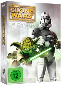 Star Wars -The Clone Wars, Die komplette 6. Staffel DVD