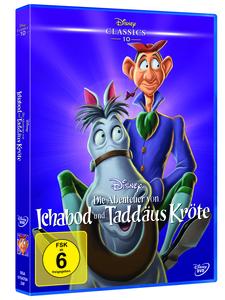 Die Abenteuer von Ichabod und Taddäus Kröte (Disney Classics) - DVD