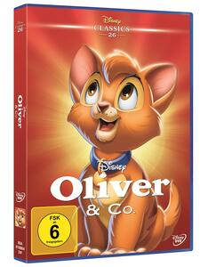 Disney Oliver & Co. , 1 DVD