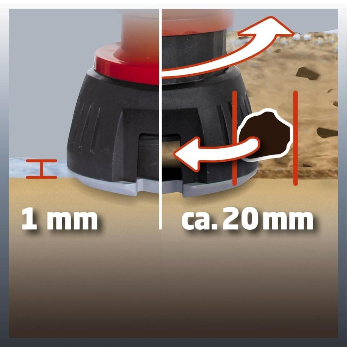 Bild 2 von Einhell Schmutzwasserpumpe GE-DP 5220 LL ECO, Leistung 520 Watt, Fördermenge max. 13500 l/h, 4170780