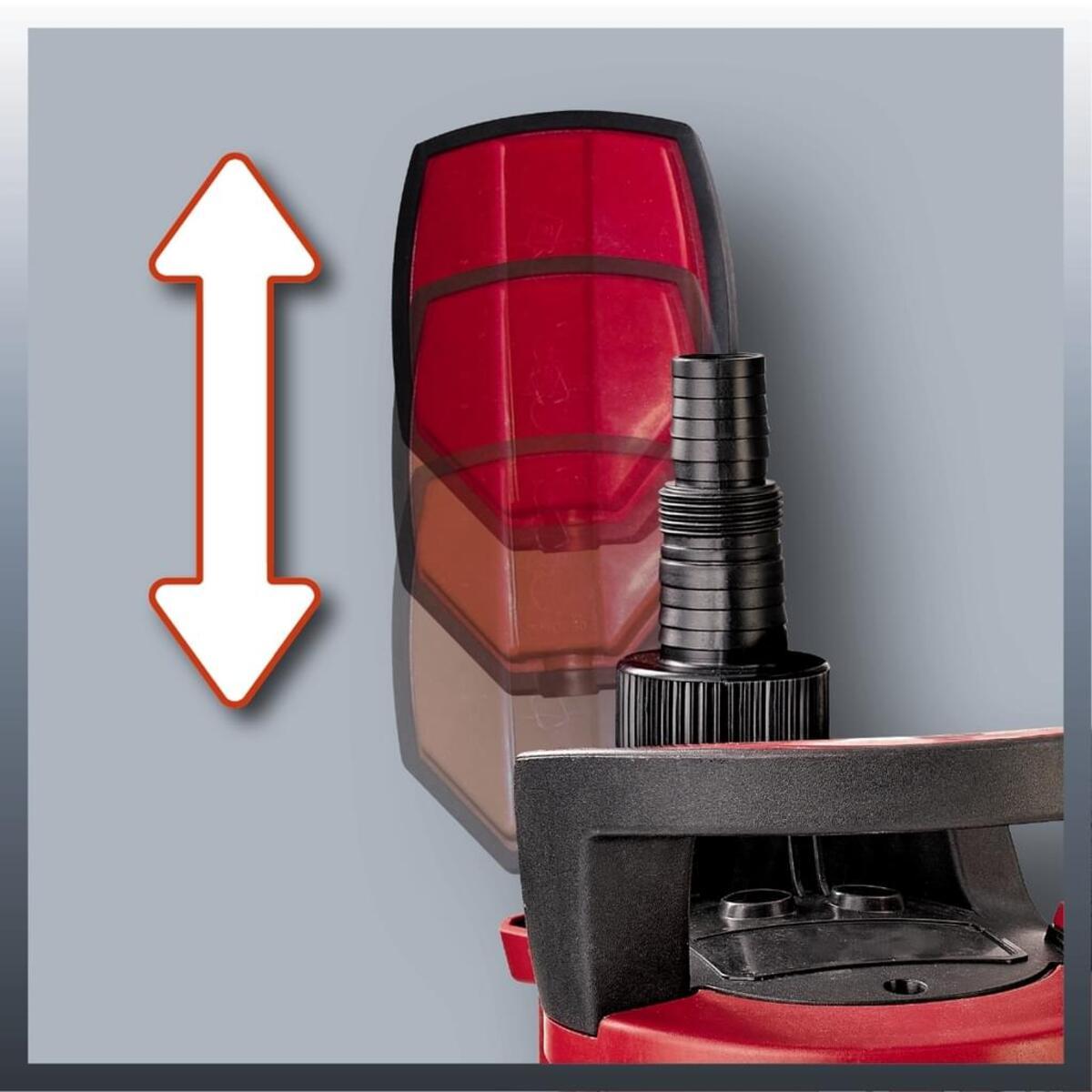 Bild 4 von Einhell Schmutzwasserpumpe GE-DP 5220 LL ECO, Leistung 520 Watt, Fördermenge max. 13500 l/h, 4170780