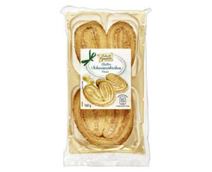 Traditionelle Genüsse  Butter-Schweinsöhrchen
