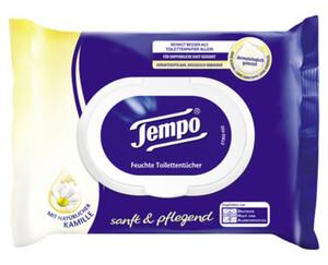 Tempo®  Feuchte Toilettentücher