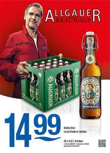 Allgäuer Brauhaus Büble Bier verschiedene Sorten