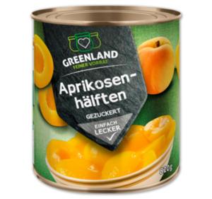 GREENLAND Aprikosen- oder Birnenhälften