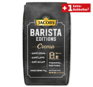 JACOBS Barista Editions Ganze Bohnen