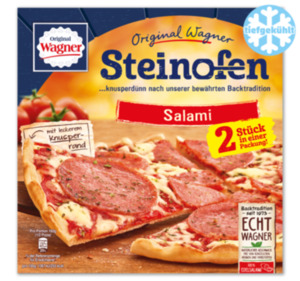 ORIGINAL WAGNER Steinofen-Pizza