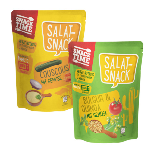 SNACK TIME     Salat-Snack