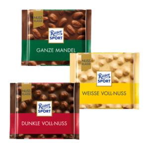 Ritter Sport Kakao Klasse / Nuss Klasse