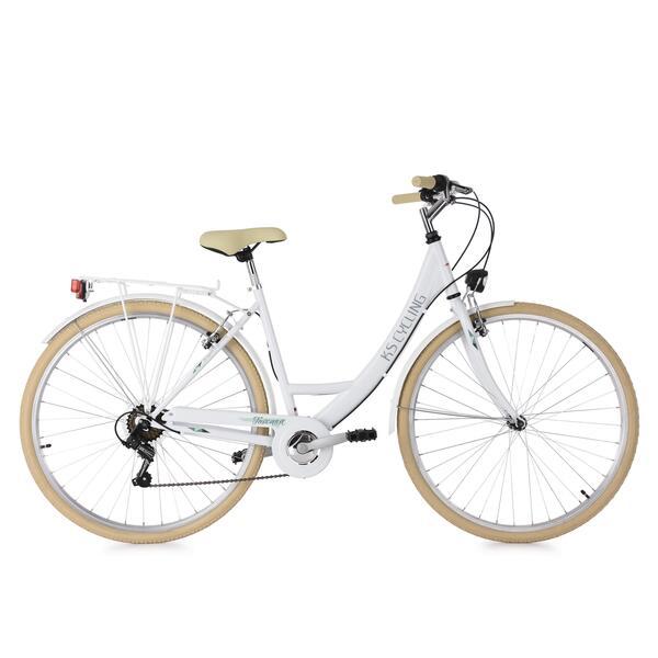 KS Cycling Damenfahrrad Cityrad Toscana 6 Gänge, 28 Zoll