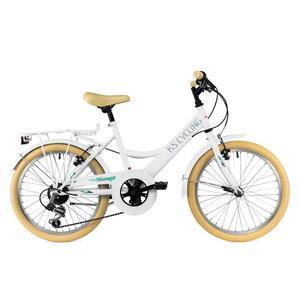 KS Cycling Kinderfahrrad 20'' Toscana RH 36 cm für Mädchen