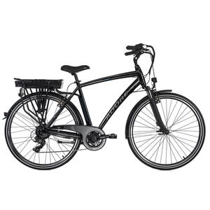 Adore Pedelec E-Bike Cityfahrrad 28'' Adore schwarz-blau für Herren