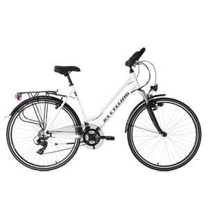 KS Cycling 28 Zoll Trekkingrad Damenfahrrad Metropolis 21 Gänge Multipositionslenker