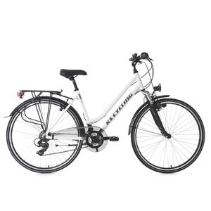 Trekkingrad Damen Alu-Rahmen 28'' Metropolis weiß 53 cm Flachlenker KS Cycling