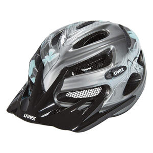 Uvex Onyx Dark Silver Light Blue Helm 52-57 cm