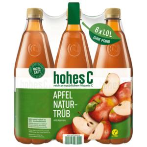 Hohes C Apfel-Acerola trüb 6x1l