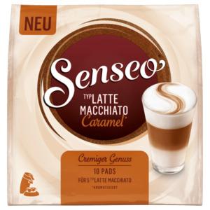 Senseo Latte Macchiato Caramel 10 Pads, 87g