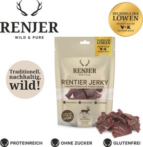 Renjer Trockenfleisch Rentier, 25 g