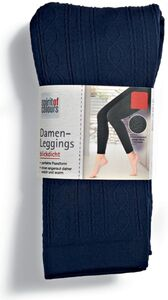 Spirit of Colours Damen Leggings - Blau Design, Gr. L/XL