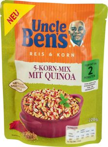 Uncle Ben's® Express 5 Korn-Mix mit Quinoa 220g