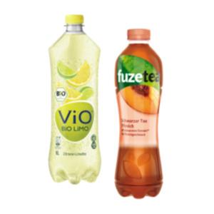 Fuze Tea oder ViO Bio Limo