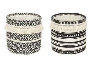 MELINERA® Dekokorb Textil Ethno