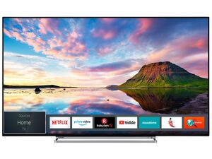TOSHIBA 43V6863DA 43 Zoll Fernseher (4K Ultra HD, HDR Dolby Vision, Smart TV, Prime Video, Alexa-ready, Sound by Onkyo, Triple-Tuner)