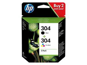 hp Druckerpatrone HP304 BK+CMY 2er Pack