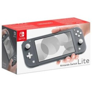 Nintendo - Switch Lite: Konsole, grau